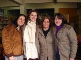 Terezinha, Gisele, Graça e Matilda